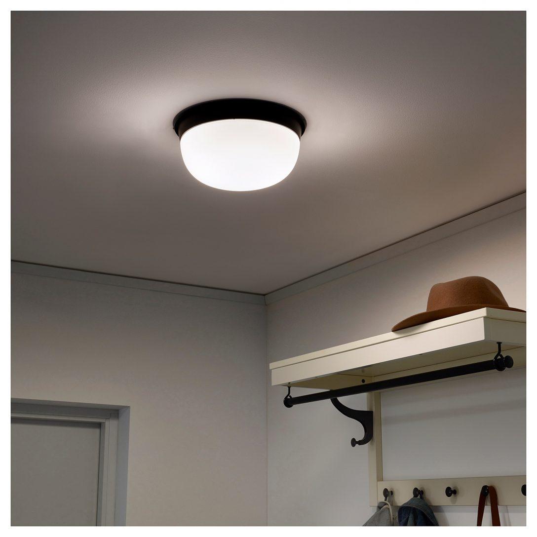Large Size of Skurup Ceiling Wall Lamp Black 10 25 Cm Wandleuchte Betten Ikea 160x200 Küche Kaufen Deckenlampe Wohnzimmer Deckenlampen Schlafzimmer Esstisch Miniküche Wohnzimmer Ikea Deckenlampe