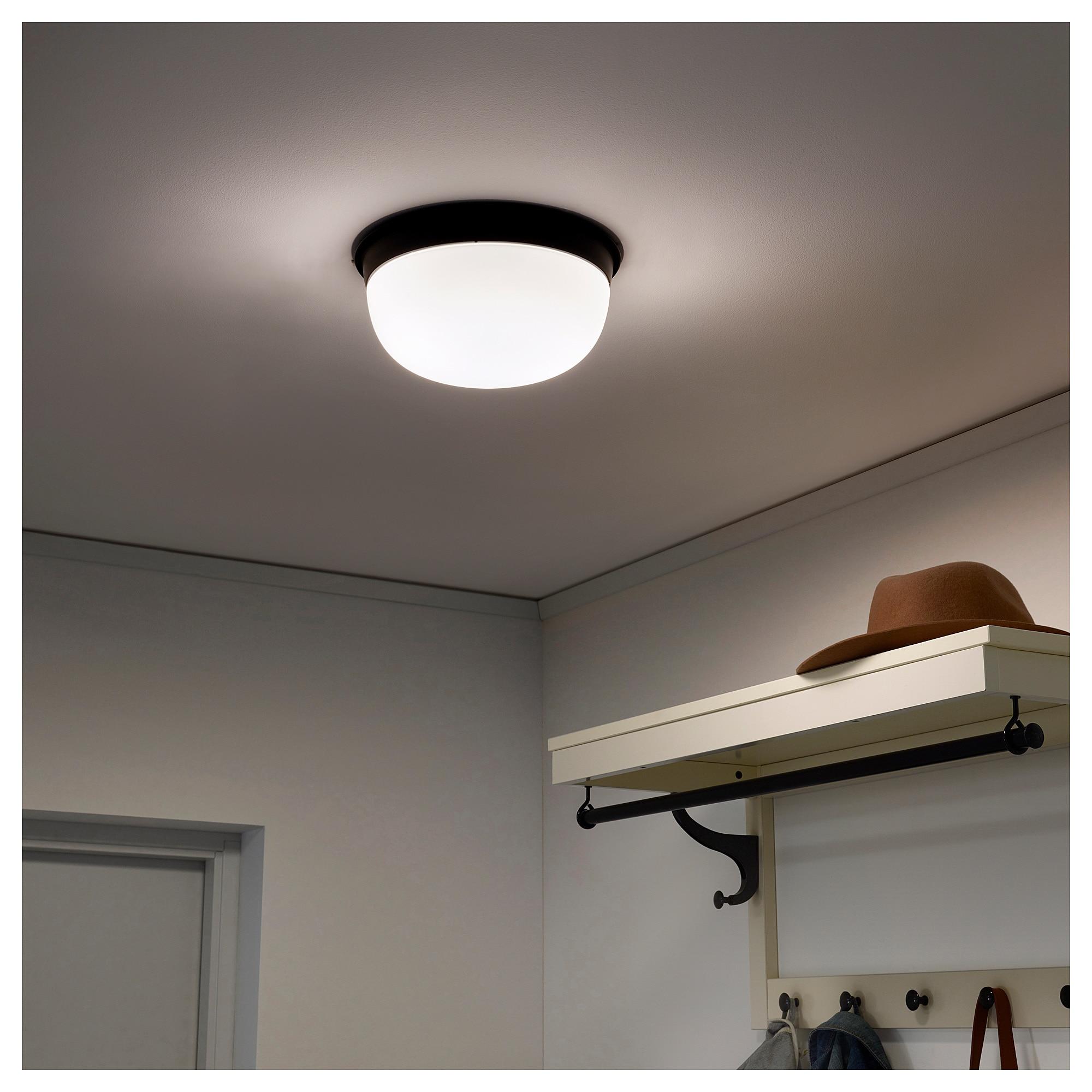 Full Size of Skurup Ceiling Wall Lamp Black 10 25 Cm Wandleuchte Betten Ikea 160x200 Küche Kaufen Deckenlampe Wohnzimmer Deckenlampen Schlafzimmer Esstisch Miniküche Wohnzimmer Ikea Deckenlampe