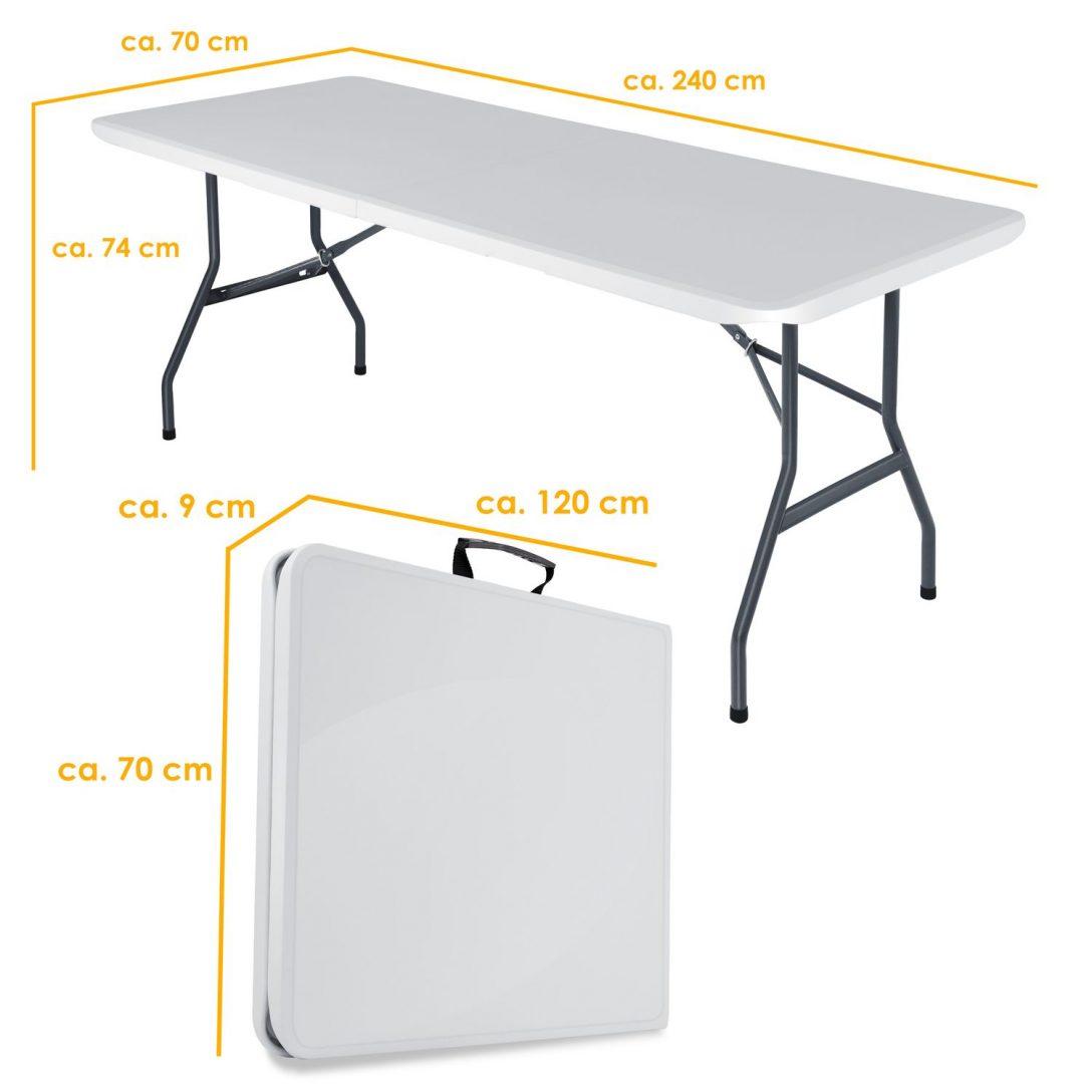 Large Size of Kesser Buffettisch Tisch Klappbar Kunststoff 240x70 Cm Bett Ausklappbar Ausklappbares Wohnzimmer Gartentisch Klappbar