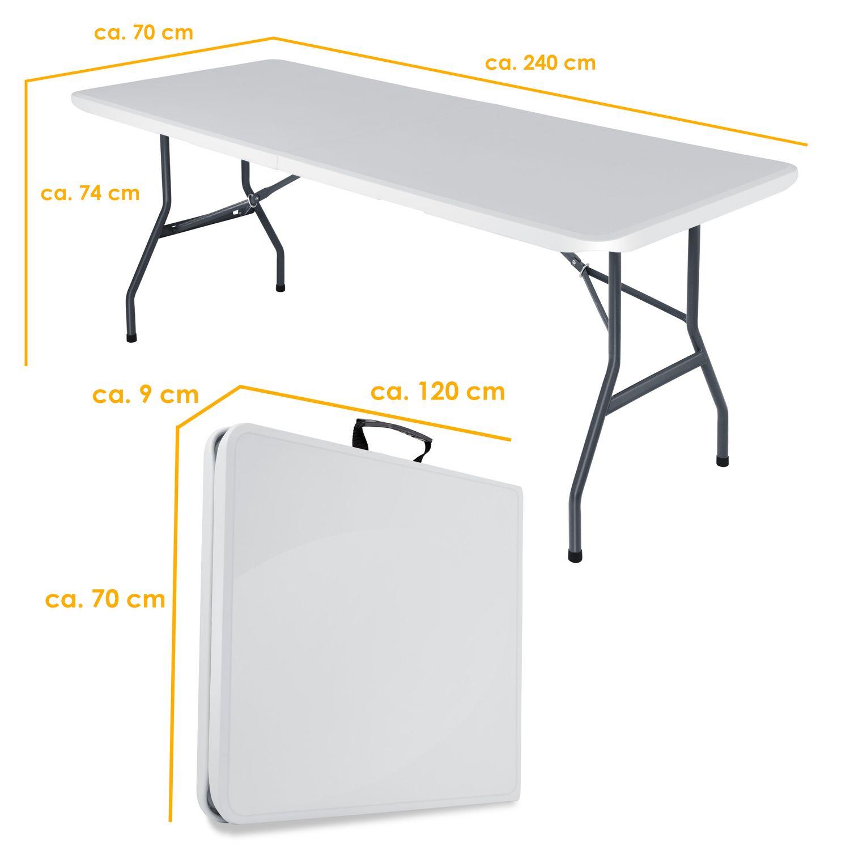 Full Size of Kesser Buffettisch Tisch Klappbar Kunststoff 240x70 Cm Bett Ausklappbar Ausklappbares Wohnzimmer Gartentisch Klappbar