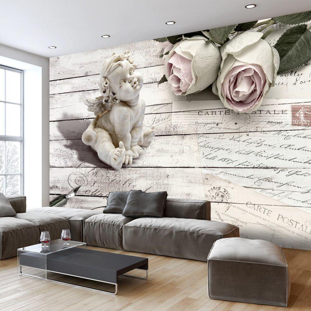 Full Size of Wohnzimmer Tapeten Details Zu Engel Rose Holz Fototapete Vlies Tapete Xxl Indirekte Beleuchtung Wandbilder Deckenlampen Für Moderne Bilder Fürs Teppiche Wohnzimmer Wohnzimmer Tapeten