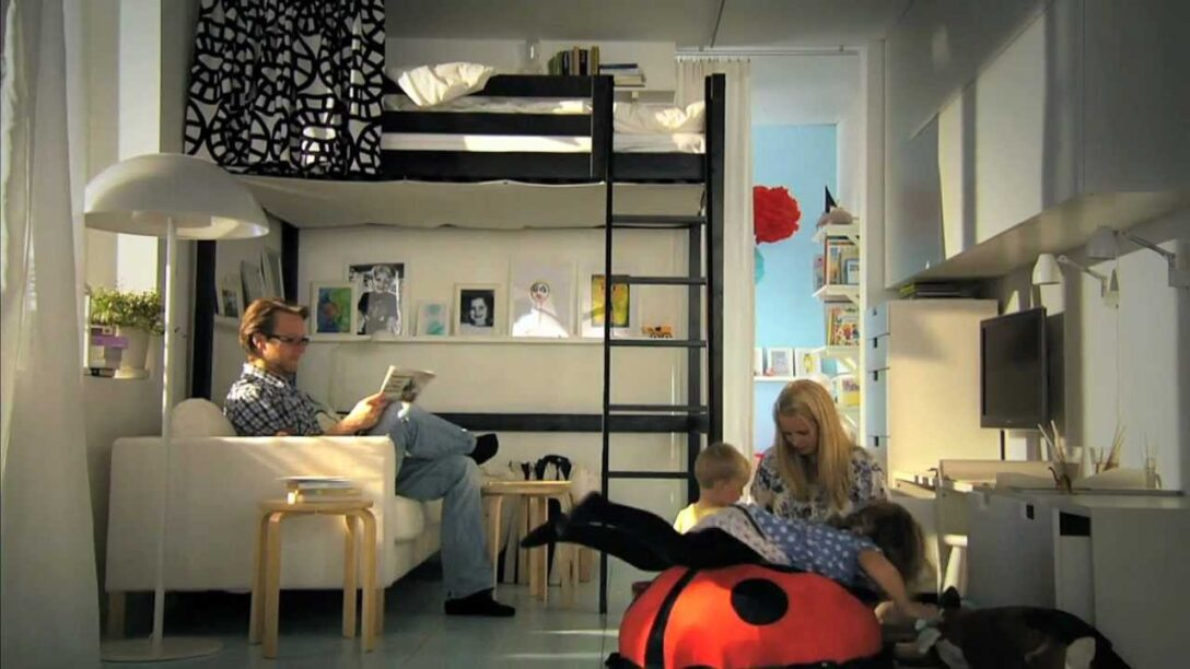 Large Size of Ikea Jugendzimmer Fr Kleine Rume Clevere Ideen Mehr Platz Youtube Bett Modulküche Küche Kosten Miniküche Sofa Kaufen Betten 160x200 Mit Schlaffunktion Bei Wohnzimmer Ikea Jugendzimmer