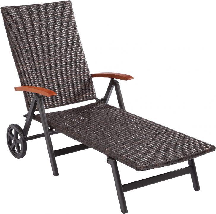 Medium Size of Sonnenliege Aldi Amazonde Ultranatura Polyrattan Rollliege Mit Armlehne Relaxsessel Garten Wohnzimmer Sonnenliege Aldi