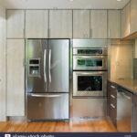 Küchenwand Kchenwand Mit Eingebautem Khlschrank Und Wand Ofen Victoria Wohnzimmer Küchenwand