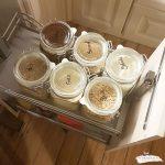 Aufbewahrung Küche Organisiere Deine Kche Von In Glsern Und Nobilia Mintgrün Kinder Spielküche Anrichte Einhebelmischer Waschbecken Modulküche Holz Wohnzimmer Aufbewahrung Küche