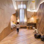 Kinderzimmer Hochbett Kinderzimmer Dieses Kreative Kinderzimmer Mit Hochbett Ldt Zum Wohlfhlen Ein Regal Sofa Weiß Regale