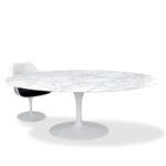 Esstisch Weiß Oval Knoll Eero Saarinen 198x121cm Arabescato Esstische Design Kaufen Bogenlampe Bett 160x200 Kleiner Weiße Betten Regal Kinderzimmer Weißes Esstische Esstisch Weiß Oval