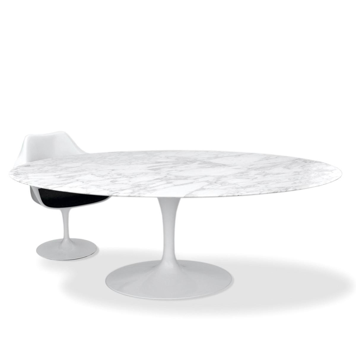 Full Size of Esstisch Weiß Oval Knoll Eero Saarinen 198x121cm Arabescato Esstische Design Kaufen Bogenlampe Bett 160x200 Kleiner Weiße Betten Regal Kinderzimmer Weißes Esstische Esstisch Weiß Oval