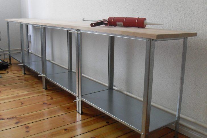 Medium Size of Diy Sideboard Tv Regal Ikea Hack Hyllis Kleines Einbauküche Selber Bauen Wandtattoo Küche Bodenbelag Mit Elektrogeräten Günstig Hängeregal Gardinen Für Wohnzimmer Eckbank Küche Ikea