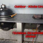 Mobile Outdoor Küche Wohnzimmer Mobile Outdoor Küche U Form Abfallbehälter Einhebelmischer Tresen Schwarze Rückwand Glas Salamander Sideboard Mit Arbeitsplatte Sonoma Eiche Einbauküche