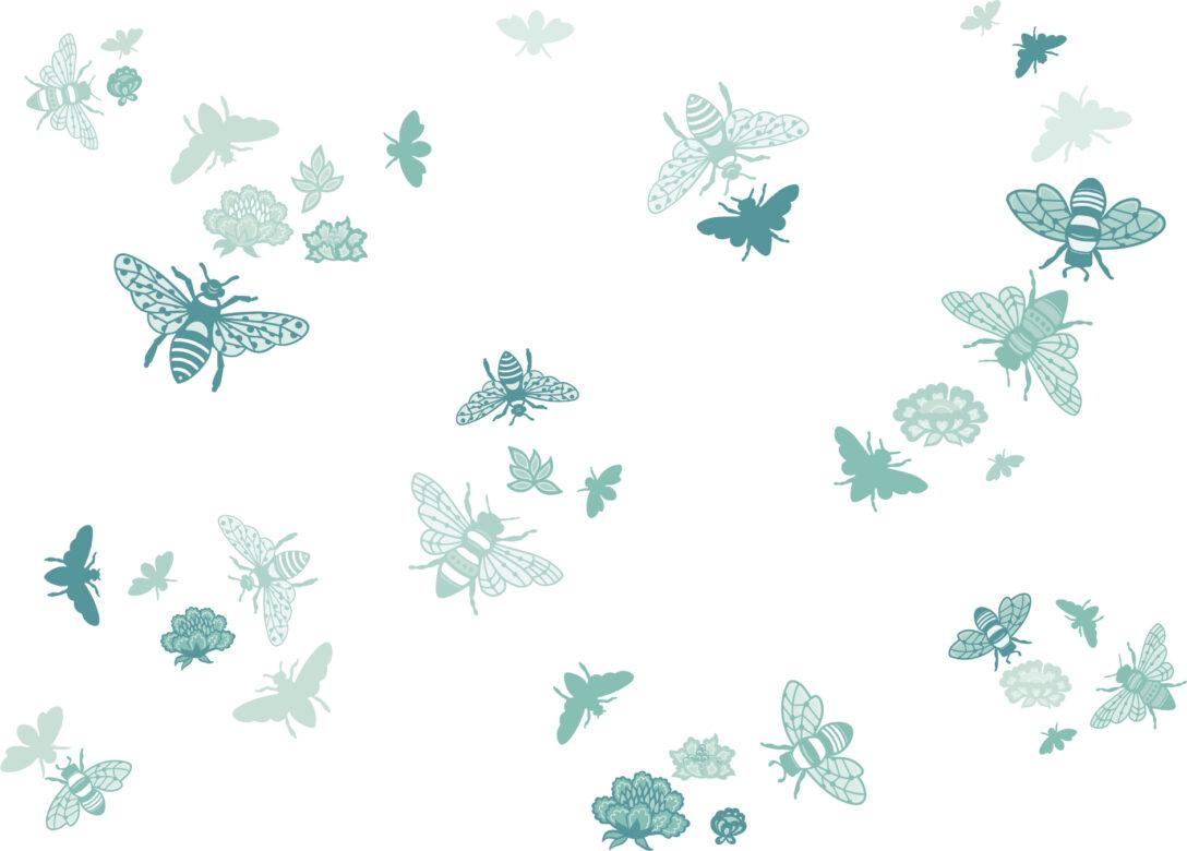 Large Size of Wandsticker Kinderzimmer Jungen Junge Wandtattoo Bienen Bee At Home Mint Trkis Wandtattoos Fr Küche Regal Weiß Regale Sofa Kinderzimmer Wandsticker Kinderzimmer Junge