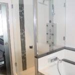 Glaswand Dusche Dusche Schulte Duschen Werksverkauf Dusche Nischentür Bluetooth Lautsprecher Fliesen Für Bodenebene Begehbare Ebenerdig Bodengleich Hüppe Einhebelmischer