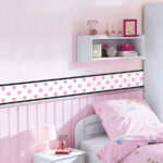 Bordüren Kinderzimmer Kinderzimmer Roommates Bordre Weie Punkte Selbstklebend Bordren Regal Kinderzimmer Weiß Regale Sofa