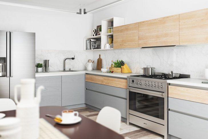 Medium Size of Küche Hellgrau Umziehen Kaufen Ikea Granitplatten L Form Unterschränke Vorhang Spülbecken Kochinsel Tapeten Für Was Kostet Eine Neue L Form Modulküche Wohnzimmer Küche Hellgrau