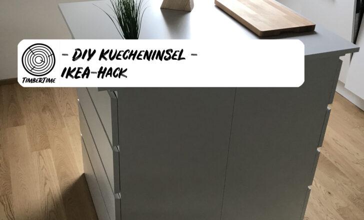 Medium Size of Diy Kcheninsel Selber Bauen Ikea Hack Wohnzimmer Kücheninsel