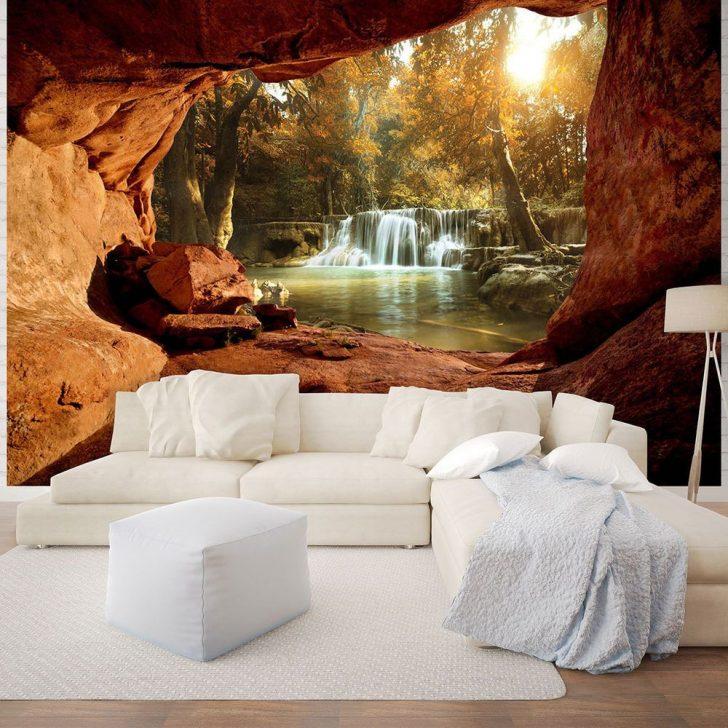 Medium Size of Details Zu Fototapete Wasserfall Tapeten Wandbilder 3d Wald Fels Wohnzimmer Ideen Fototapeten Für Küche Die Schlafzimmer Wohnzimmer 3d Tapeten