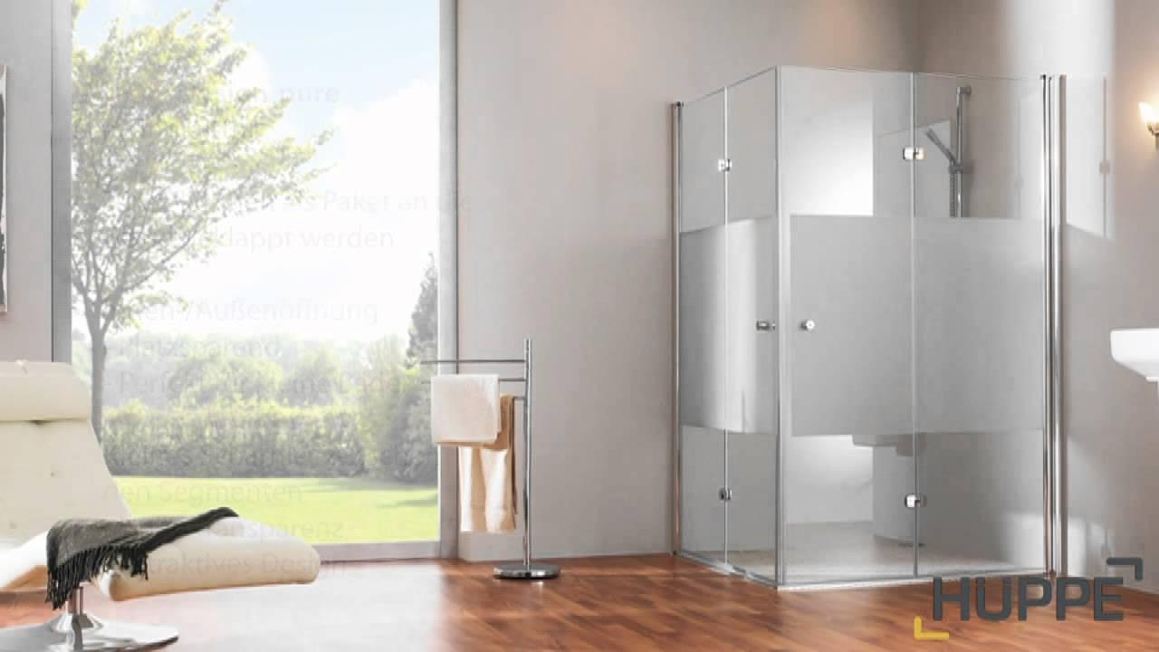Full Size of Hppe Design Pure Duschabtrennung Youtube Moderne Duschen Sprinz Schulte Werksverkauf Hüppe Dusche Breuer Kaufen Begehbare Bodengleiche Hsk Dusche Hüppe Duschen