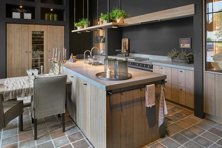 Medium Size of Holzkchen Mach Mit Keuken Interieur Wohnzimmer Holzküchen