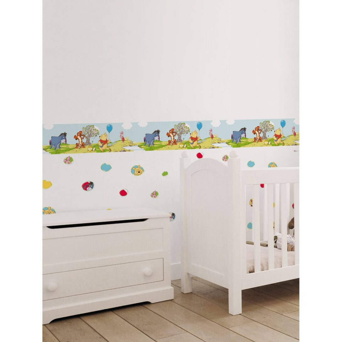 Large Size of Selbstklebende Bordre Disney Pooh Botherfree Day Kaufen Bei Obi Sofa Kinderzimmer Regal Weiß Regale Kinderzimmer Bordüren Kinderzimmer