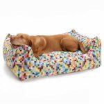 Hundebett Flocke Bitiba 125 Cm Kaufen Xxl Zooplus 90 Wolke 120 Funky Checks Wohnzimmer Hundebett Flocke