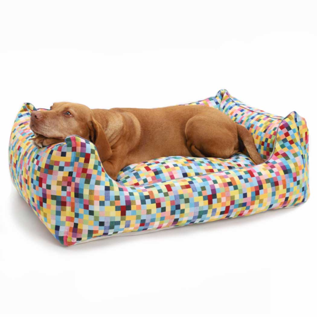 Full Size of Hundebett Flocke Bitiba 125 Cm Kaufen Xxl Zooplus 90 Wolke 120 Funky Checks Wohnzimmer Hundebett Flocke