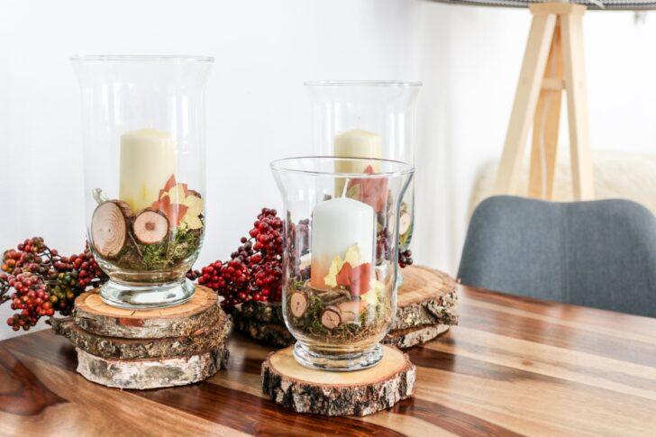Medium Size of Diy Herbstliche Kerzen Als Deko Frs Wohnzimmer Mit Pilotpen Led Deckenleuchte Landhausstil Dekoration Liege Lampen Stehlampen Hängeleuchte Decke Deckenlampen Wohnzimmer Wohnzimmer Dekorieren