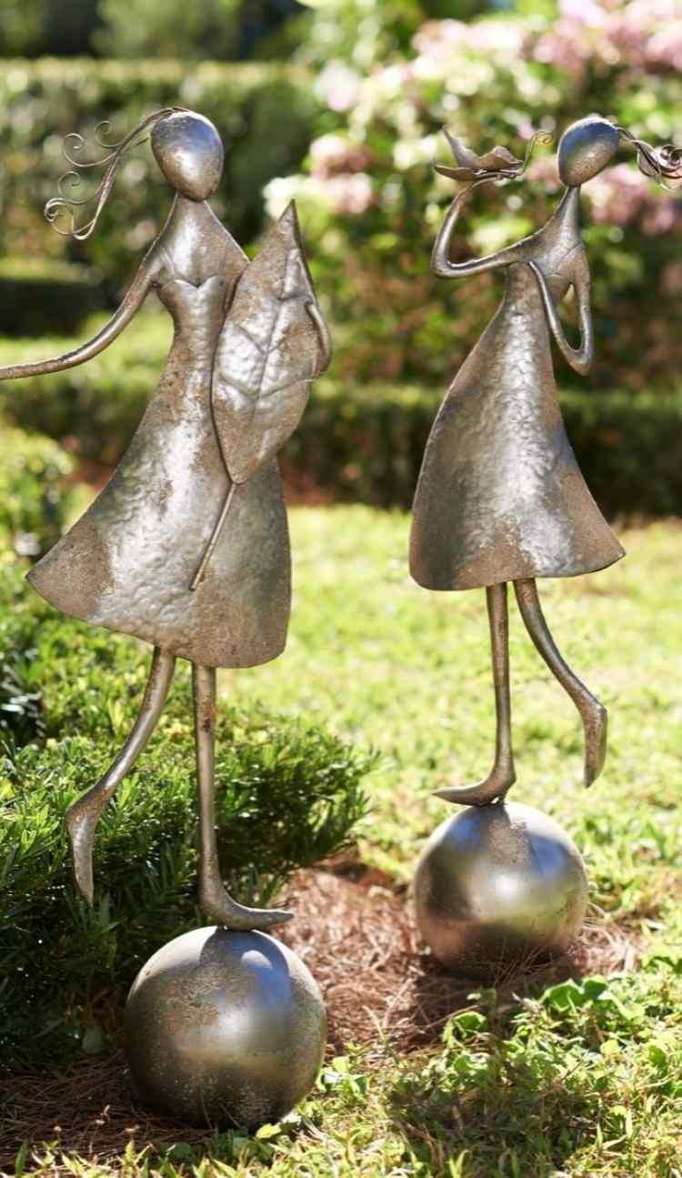 Full Size of Gartendeko Modern Edelstahl Selber Machen Moderne Metall Pinterest Kaufen Online Skulpturen Rost Aus Wie Sie Effektvoll In Szene Setzen Küche Holz Wohnzimmer Gartendeko Modern