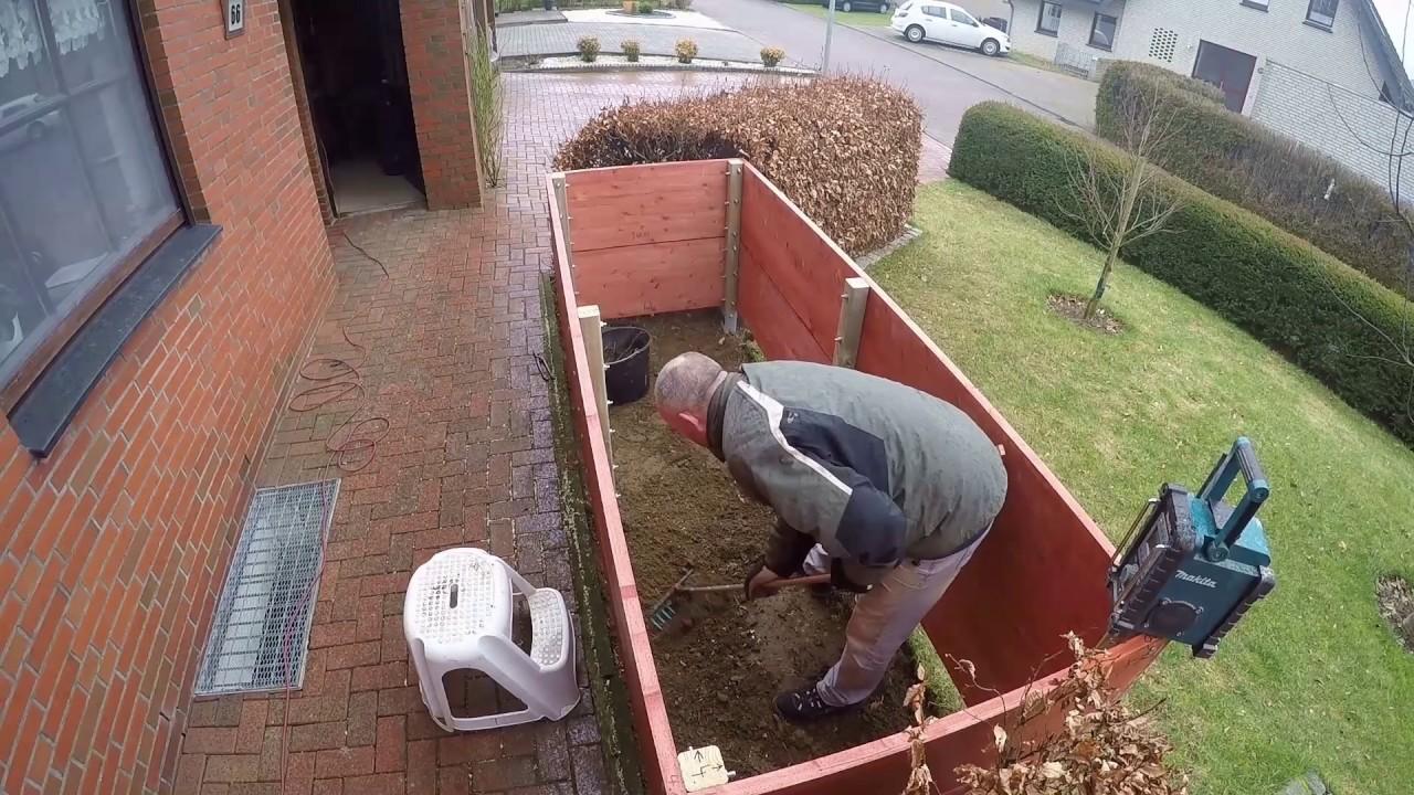 Full Size of Hochbeet Hornbach Bau Eines Neuen Hochbeetes Selber Bauen Diy Youtube Garten Wohnzimmer Hochbeet Hornbach