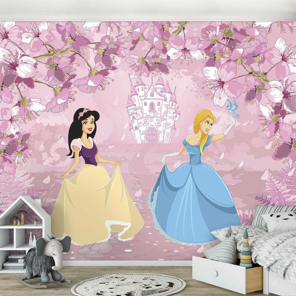 Full Size of Kinderzimmer Prinzessin Fototapete Mdchen Vlies Real Prinzessinen Bett Regal Regale Weiß Sofa Kinderzimmer Kinderzimmer Prinzessin