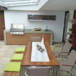 Idee Beton Outdoor Kche Mit Holz Auf Der Terrasse Napoleon Küche Finanzieren Betonoptik Komplettküche Insel Salamander Amerikanische Kaufen Eiche Hell Ikea Wohnzimmer Outdoor Küche Beton