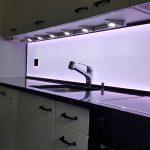 Küchenleuchte Wohnzimmer Küchenleuchte Led Kchenrckwand Und Umrandung Fr Besondere Akzente