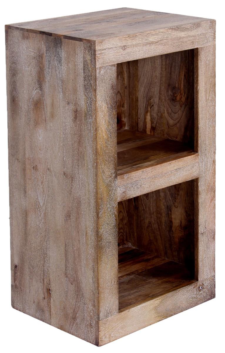 Full Size of Massivholz Regal Kawola Tao 2 Fcher Badmöbel Usm Kisten Tisch Kombination Auf Rollen Mit Bett Massivholzküche Schuh Würfel Schlafzimmer Ahorn Wandregal Regal Massivholz Regal