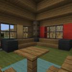 Das Erste Haus Teil 2 Der Innenausbau Und Dekoration Anrichte Küche Möbelgriffe Moderne Landhausküche Arbeitsplatten U Form Abfalleimer Eckbank Wohnzimmer Minecraft Küche