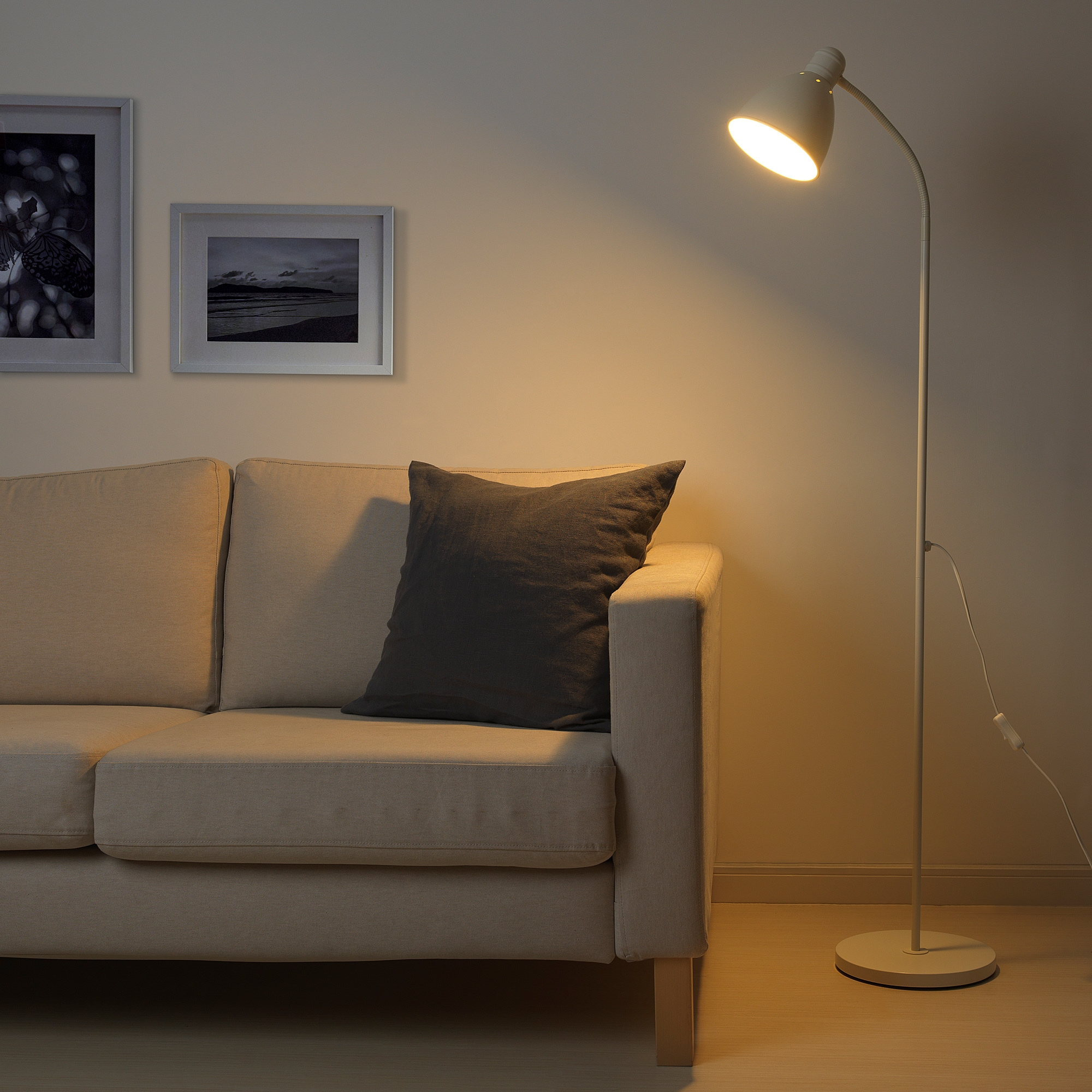 Statische Aufladung Sofa