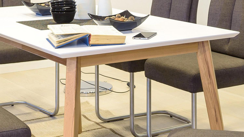 Full Size of Esstisch Vinko 140x80 Tisch Buche Natur Massiv Und Wei Bett Designer Lampen Sofa Für Esstischstühle Mit 4 Stühlen Günstig Baumkante Kleiner Weiß Holz Esstische Esstisch Buche