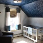 Mit Sternen Im 24 Fotos Regale Sofa Regal Weiß Kinderzimmer Sternenhimmel Kinderzimmer