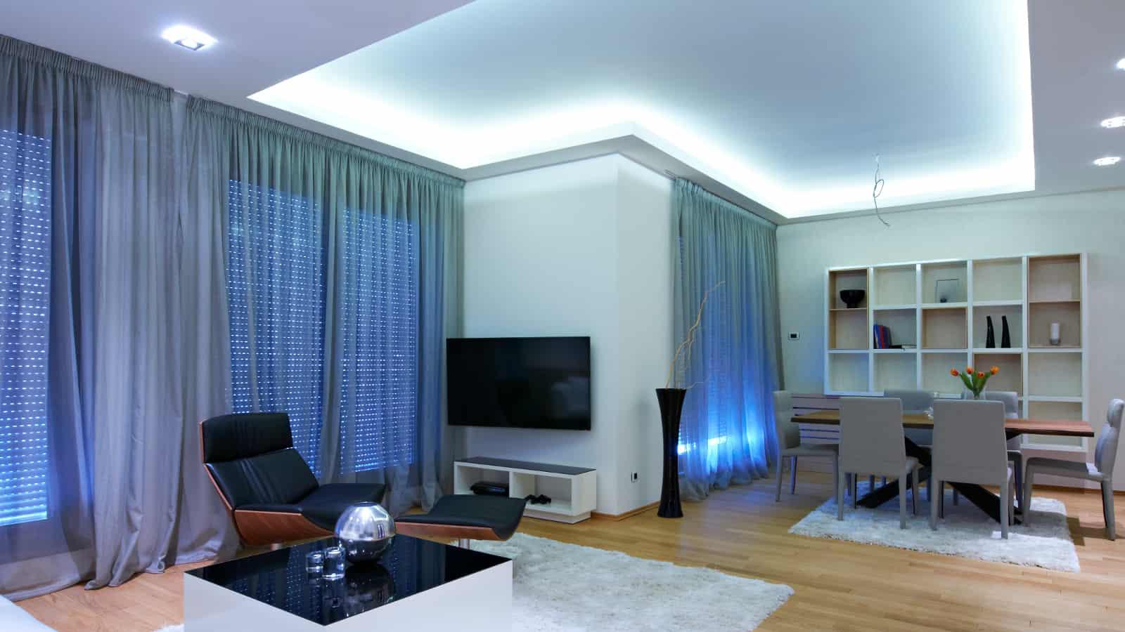 Full Size of Wohnzimmer Indirekte Beleuchtung Indirektes Licht Ideen Gardine Lampen Liege Deckenleuchten Hängeschrank Led Küche Bad Vorhänge Stehlampe Teppiche Schrank Wohnzimmer Wohnzimmer Indirekte Beleuchtung