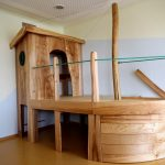 Schiff Kindertagessttte Lillabo Ev Klettergerüst Garten Wohnzimmer Klettergerüst Indoor