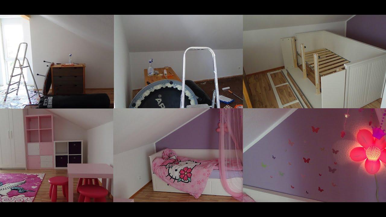 Full Size of Jugendzimmer Ikea Kinderzimmer Roomtour Mdchenzimmer Youtube Miniküche Küche Kaufen Betten 160x200 Sofa Mit Schlaffunktion Kosten Bei Modulküche Bett Wohnzimmer Jugendzimmer Ikea