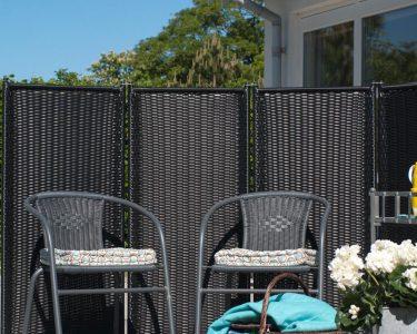 Paravent Terrasse Wohnzimmer Paravent Trend 4 Teilig Garten