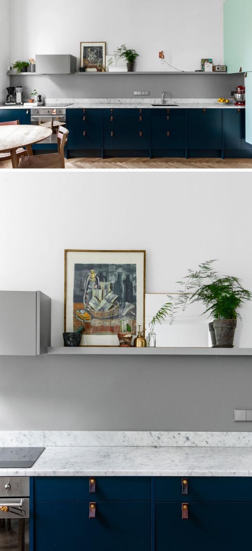 Full Size of Küchen Ideen Modern 1001 Moderne Und Stilvolle Kchen In Blau Bett Design Regal Esstische Esstisch Bilder Fürs Wohnzimmer Deckenlampen Duschen Modernes Wohnzimmer Küchen Ideen Modern
