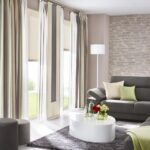 Gardinen Wohnzimmer Deko Großes Bild Schrankwand Led Beleuchtung Lampe Relaxliege Teppich Vorhänge Fenster Deckenleuchte Liege Wohnzimmer Gardinen Wohnzimmer