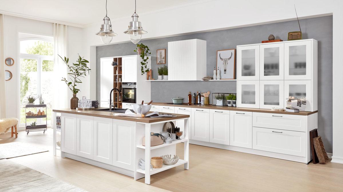 Full Size of Küchen Interliving Kche Serie 3002 Mit Siemens Einbaugerten Regal Wohnzimmer Küchen