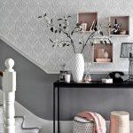 Wohnzimmer Tapeten Vorschläge Tapete In Grau Stilvolle Vorschlge Fr Wandgestaltung Liege Kamin Fototapeten Sessel Deko Hängeschrank Weiß Hochglanz Wohnzimmer Wohnzimmer Tapeten Vorschläge