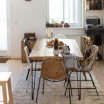 Darf Ich Vorstellen Unsere Kche Ein Update Zuhause Vintage Esstisch Sofa Stühle Teppich Küche Massiv Ausziehbar Musterring Beton Esstischstühle Deckenlampe Esstische Esstisch Teppich