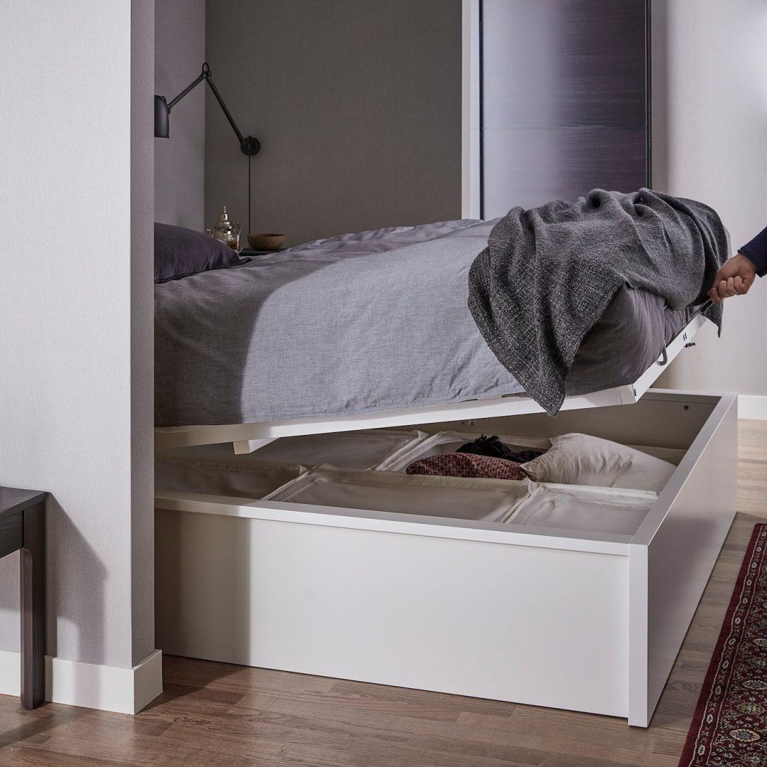 Large Size of Bett Mit Stauraum Ikea Selber Bauen Diy 90x200 140x200 160x200 180x200 Hack 120x200 Betten Viel Malm Bettgestell Aufbewahrung Wei Deutschland Rutsche Ohne Wohnzimmer Bett Mit Stauraum Ikea