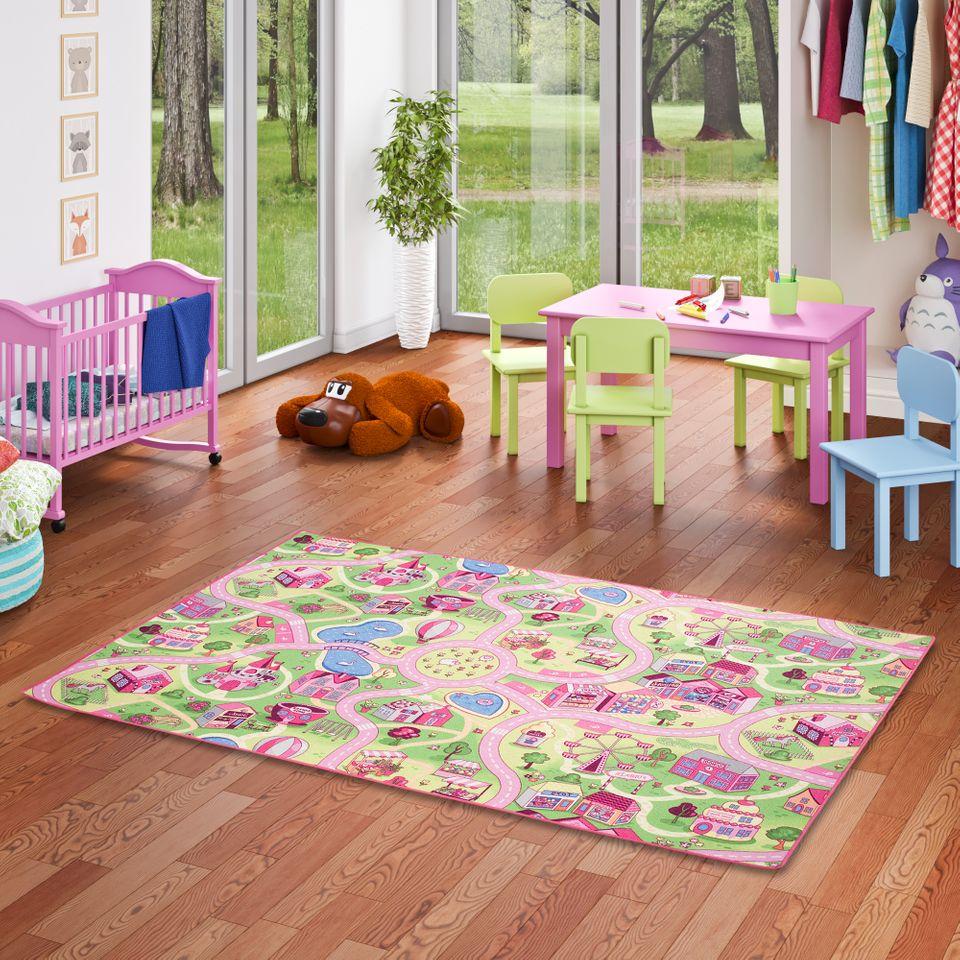 Full Size of Teppichboden Kinderzimmer Spiel Teppich Girls Rosa Village Teppiche Und Regal Weiß Regale Sofa Kinderzimmer Teppichboden Kinderzimmer