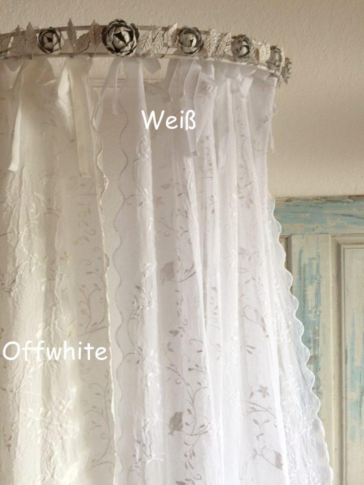 Medium Size of Gardinen Landhausstil Wei Schal Bird Bestickt 200x250 Shabby Landhaus Scheibengardinen Küche Für Wohnzimmer Schlafzimmer Esstisch Weiß Fenster Die Regal Wohnzimmer Gardinen Landhausstil