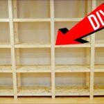 Regal Selber Bauen Wohnzimmer Gnstiges Holzregal Selber Bauen Perfekt Werkstatt Youtube Regal Kernbuche Weis Bett 180x200 Moormann Für Kleidung Tisch Kombination 60 Cm Breit Naturholz