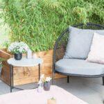 Terrassen Lounge Wohnzimmer Terrassen Lounge Makeover Superschne Sessel Garten Loungemöbel Holz Günstig Set Möbel Sofa